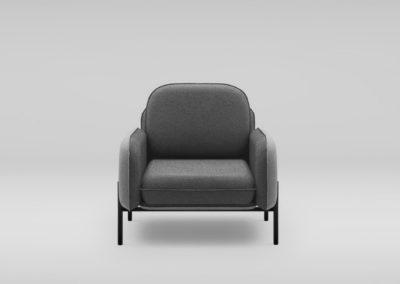 Fotel CORBU_front_QUEENS33_30_nozki czarne