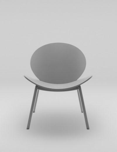Fotel KANU 1 szary