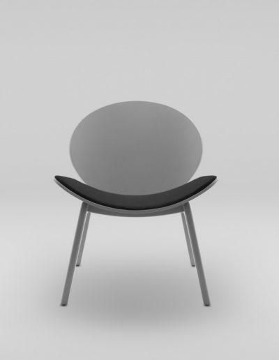 Fotel KANU 1_tapicerowane siedzisko S10