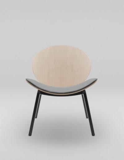 Fotel KANU 1_tapicerowane siedzisko W417