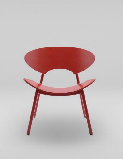 Fotel KANU 2 czerwony