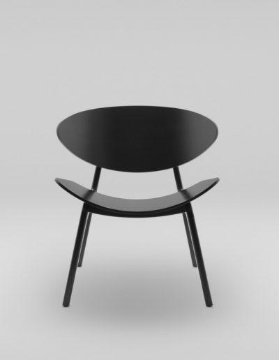 Fotel KANU 3 czarny