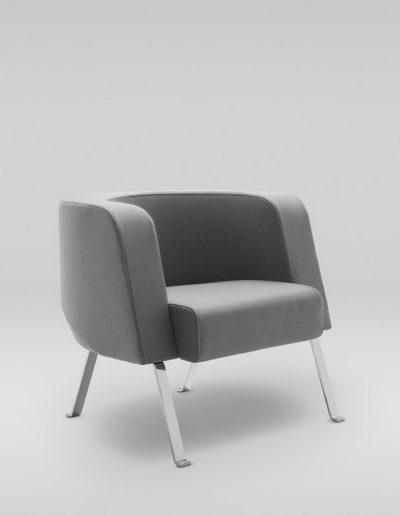Fotel NEON L_nogi metalowe_skos