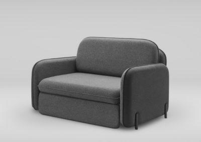 Fotel rozkladany CORBU_skos_MLF16_28_nozki czarne