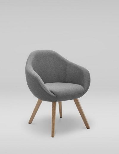 Fotel TULO 4N_skos_L32, dab