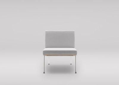 Fotel FIN_podstawa metalowa