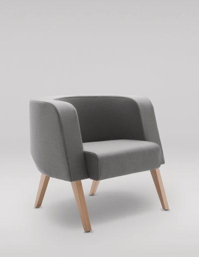 Fotel NEON L_nogi drewniane_skos