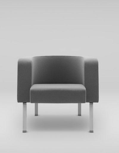 Fotel NEON L_nogi metalowe