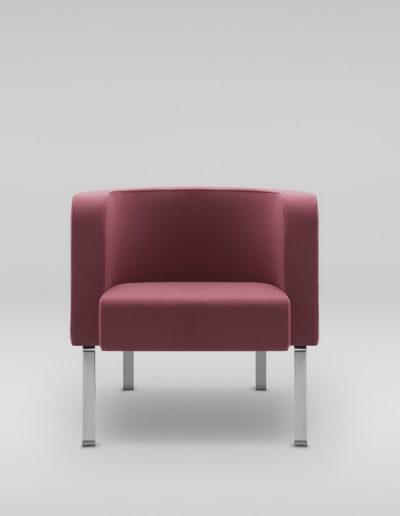 Fotel NEON M_nogi metalowe