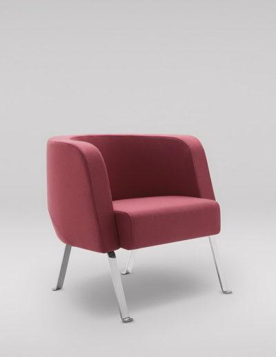 Fotel NEON M_nogi metalowe_skos