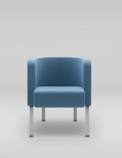 Fotel NEON S_nogi metalowe