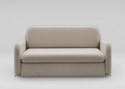 Sofa rozkladana CORBU_front_MLF20_nozki biale