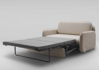 Sofa rozkladana CORBU_skos_MLF20_nozki biale_rozlozona