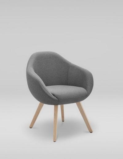 Fotel TULO 4N_skos_L32, buk