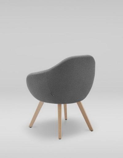 Fotel TULO 4N_tyl_L32, buk